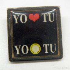 Pins de colección: PIN YO TU. Lote 158183306