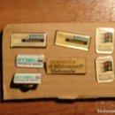 Pins de colección: LOTE DE 7 PINES VINTAGE TECNOLOGICOS, MICROSOFT. Lote 158422394