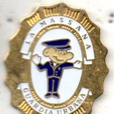 Pins de colección: PIN-GUARDIA URBANA DE LA MASSANA (ANDORRA). Lote 158565578