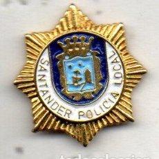 Pins de colección: PIN-POLICIA LOCAL DE SANTANDER. Lote 158608550
