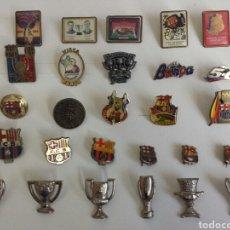 Pins de colección: PINS FC.BARCELONA. LOTE DE 27 PINS. Lote 158648013
