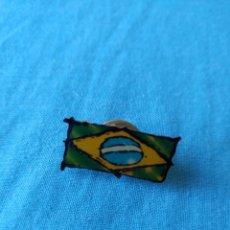 Pins de colección: PIN BANDERA BRASIL BRASILEIRA. Lote 159723938