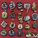Pins de colección: LOTE DE 20 PINS DE FALLAS DE VALENCIA , ANTIGUOS, ORIGINALES , L18. Lote 160003930