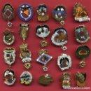 Pins de colección: LOTE DE 20 PINS DE FALLAS DE VALENCIA , ANTIGUOS, ORIGINALES , L24. Lote 160004170