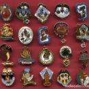 Pins de colección: LOTE DE 20 PINS DE FALLAS DE VALENCIA , ANTIGUOS, ORIGINALES , L27. Lote 160004262