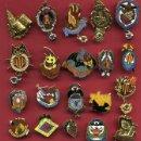 Pins de colección: LOTE DE 20 PINS DE FALLAS DE VALENCIA , ANTIGUOS, ORIGINALES , L30. Lote 160004438