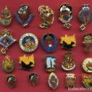 Pins de colección: LOTE DE 20 PINS DE FALLAS DE VALENCIA , ANTIGUOS, ORIGINALES , L32. Lote 160004542