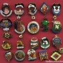 Pins de colección: LOTE DE 20 PINS DE FALLAS DE VALENCIA , ANTIGUOS, ORIGINALES , L34. Lote 160004630