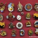 Pins de colección: LOTE DE 20 PINS DE FALLAS DE VALENCIA , ANTIGUOS, ORIGINALES , L39. Lote 160004870