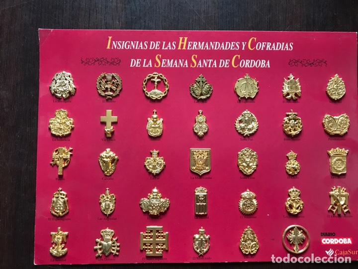 INSIGNIAS DE LAS HERMANDADES Y COFRADÍAS DE LA SEMANA SANTA DE CÓRDOBA (Coleccionismo - Pins)