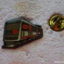 Pins de colección: PIN DE TRENES FERROCARRILES. METRO TRANVÍA. Lote 160359814