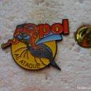 Pins de colección: PIN POL AL ATAQUE. INSECTO ABEJORRO . INSECTICIDA? PROGRAMA TELEVISIÓN?. Lote 160361026