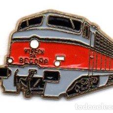 Pins de coleção: PIN-TEMA TRENES-TALGO VIRGEN DE BEGOÑA. Lote 160569878