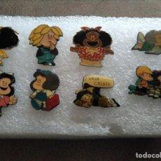 Pins de colección: LOTE PINS MAFALDA. Lote 160793910