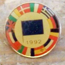 Pins de colección: PIN EXPO 1992 SEVILLA, COMUNIDAD ECONOMICA EUROPEA. Lote 160814906
