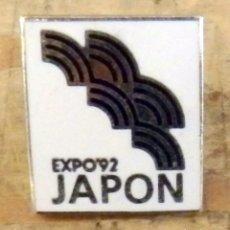 Pins de colección: PIN EXPO 92 SEVILLA PABELLON DE JAPON. Lote 160815202