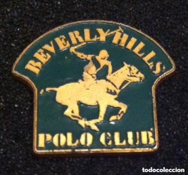 ANTIGUO PIN BEVERLY HILLS POLO CLUB (Coleccionismo - Pins)