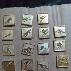 Pins de colección: LOTE DE PINS JUEGOS OLIMPICOS 1992. Lote 162279856