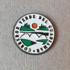 Pins de colección: PIN POLITICO ECOLOGISTA. CORREDOR VERDE DEL GUADIAMAR. ANDALUCIA. (PINS POLITICOS, CHAPAS POLITICAS). Lote 238839175
