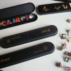 Pins de colección: LOTE 137 PINS RAROS, GRANDES, COCA-COLA, COBI, NAVIDAD, DEPORTES, MOTOR, FC BARCELONA, .... Lote 162937214