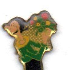 Pins de colección: PIN-TEMA POPEYE-OLIVIA. Lote 163576870