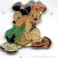Pins de colección: PIN- MICKEY MOUSE Y MINUIE. Lote 163592550