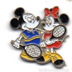 Pins de colección: PIN-MICKEY MOUSE Y MINUIE. Lote 163592638