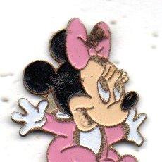 Pins de colección: PIN-TEMA MICKEY MOUSE-MINUIE. Lote 163592722