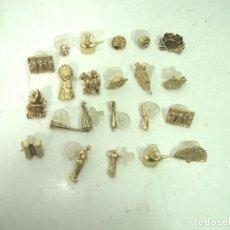 Pins de colección: 22 PINS -COLECCION FALLAS VALENCIA- FALLERO INSIGNIA BUÑOL ALFILER - PIN FALLA OJAL JJH. Lote 194928551