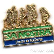 Pins de colección: PIN-SA NOSTRA-MALLORCA. Lote 164579882