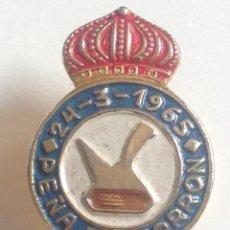 Pins de colección: INSIGNIA DE OJAL. EL PORRÓN . Lote 164819694