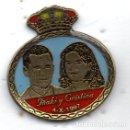 Pins de colección: PIN-IÑAKI-CRISTINA 4-10-1997. Lote 164914246