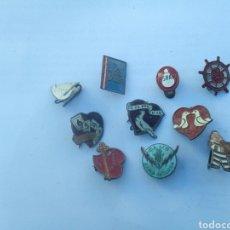 Pins de colección: LOTE DE PINS ANTIGUOS. Lote 165660030