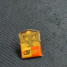 Pins de colección: PIN COCA COLA EXPO SEVILLA 92. Lote 166260900