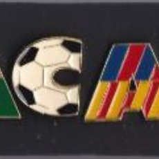 Pins de colección: COLECCION DE 11 PINS DE BARÇA TETRACAMPIO DE SANTOS PIN'S COLLECTION (FUTBOL-FOOTBALL). Lote 166289406