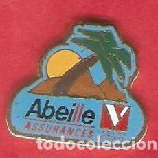 Pins de colección: 1 PIN /PINS - PUBLICITARIO - SEGUROS - ABEILLE ASSURANCES. Lote 166303370