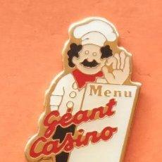Pins de colección: PIN GEANT CASINO. Lote 166475306