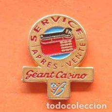 Pins de colección: PIN GEANT CASINO. Lote 166475314