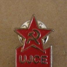 Pins de colección: PIN POLÍTICO SINDICAL. UJCE. JUVENTUDES COMUNISTAS. PARTIDO COMUNISTA. Lote 166978804