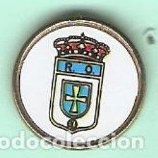 Pins de colección - 1 PIN /PINS - FÚTBOL - ESCUDO - REAL OVIEDO - PIN TIPO PINCHO - 167063712