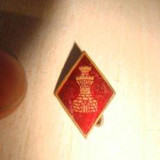 Pins de colección: VIEJO PIN SOLAPA INGENIEROS ESMALTADO. Lote 167614868