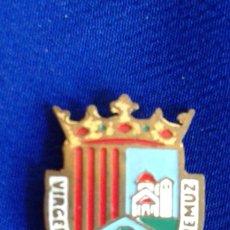 Pins de colección: PIN ESCUDO VIRGEN DE LA HUERTA ADEMUZ. Lote 167761488
