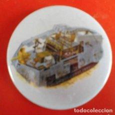 Pins de colección: A7V CROQUIS DEL CARRO ALEMÁN. CHAPA NUEVA DE 57 MM. Lote 167897324