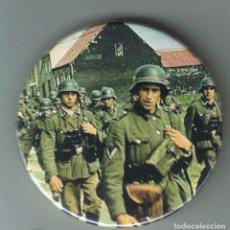 Pins de colección: 1939 INFANTERÍA ALEMANA EN POLONIA. CHAPA NUEVA DE 57 MM. Lote 167897524