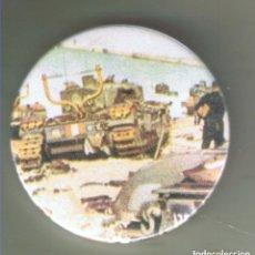 Pins de colección: 1942 CARRO CHURCHILL EN LAS PLAYAS DE DIEPPE. CHAPA NUEVA DE 57 MM. Lote 167898112