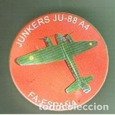 Pins de colección: JUNKERS JU-88 A4. CHAPA NUEVA DE 57MM. Lote 167908704