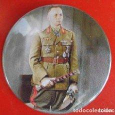 Pins de colección: MARISCAL ERWIN ROMMEL. CHAPA NUEVA DE 57 MM. Lote 167909116