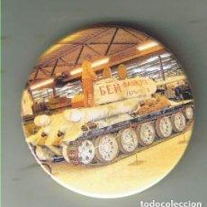 Pins de colección: T-34.85 MUSEO DE OVERLOON EN HOLANDA. CHAPA NUEVA DE 57 MM. Lote 167909400