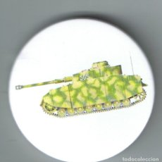 Pins de colección: PANZER IV AUSF H DE 12ª PANZERDIVISION EN RUSIA. CHAPA NUEVA DE 57 MM. Lote 167919556