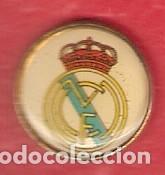 1 PIN / PINS - FÚTBOL - ESCUDO - REAL MADRID - PIN TIPO PINCHO (Coleccionismo - Pins)